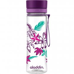 Aladdin AVEO Butelka do Wody 0,6 l Fioletowa