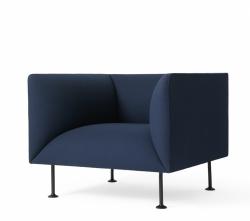 Menu GODOT Fotel Granatowy - Royal Blue
