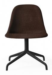 Menu HARBOUR SIDE Krzesło Obrotowe - Rama Czarna - Siedzisko Tapicerowane - Tkanina Kvadrat Colline 568