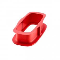 Lekue DUO Forma Prostokątna (KEKSÓWKA) 24 cm Czerwona