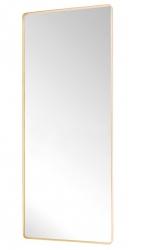 Hübsch BRASS Lustro Podłogowe 152 cm Rama Mosiądz - Odcień Złoty