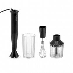 Alessi PLISSE Blender Ręczny + Akcesoria - Czarny