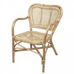 Broste Copenhagen ULLA Fotel - Krzesło Rattanowe