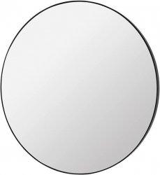 Broste Copenhagen MIRROR Lustro Ścienne Okrągłe 110 cm Czarne