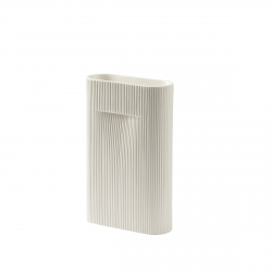 Muuto RIDGE Wazon do Kwiatów 35 cm Biały (Off-White)