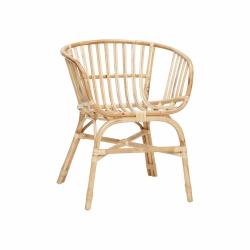 Hübsch SOFT Krzesło Ratanowe - Naturalne