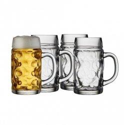 Lyngby Glass JUVEL Kufel do Piwa 0,5 l - 4 Szt.
