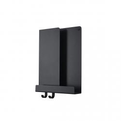 Muuto FOLDED Organizer - Półka Ścienna 29 cm Czarna