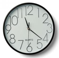 Scandinavia LIVING Zegar Ścienny 27 cm Biały