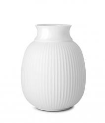 Lyngby Porcelain CURVE Wazon do Kwiatów 12 cm Biały