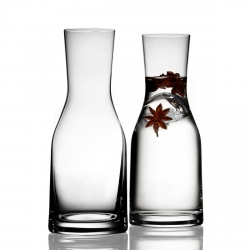 Bitz GLASS Karafka do Wina, Wody 300 ml 2 Szt.