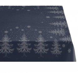 Sodahl CHRISTMAS WINTERLAND Obrus Świąteczny na Stół 150x320 cm Granatowy