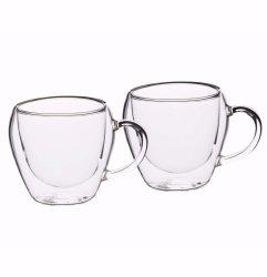 Kitchen Craft DOUBLE Szklanki Termiczne do Herbaty 230 ml 2 Szt.