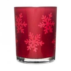 Sagaform WINTER Świecznik Tealight - Czerwony