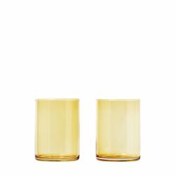 Blomus MERA Szklanki do Wody 2 szt. 220 ml Dull Gold