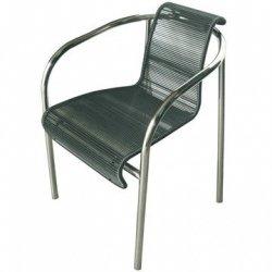 Skagerak OCEAN String - Krzesło Czarne