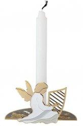 Stelton CHRISTMAS Świecznik While Waiting - Świąteczny Anioł z Harfą