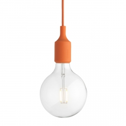 Muuto E27 Lampa Żarówka LED  Pomarańczowa