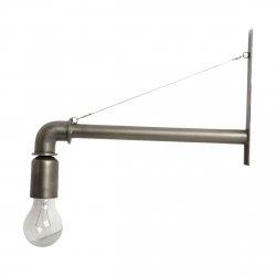 House Doctor PIPE Lampa - Kinkiet w Industrialnym Stylu