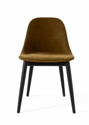 Menu HARBOUR SIDE Krzesło - Rama Dąb Czarny - Siedzisko Tapicerowane Khaki