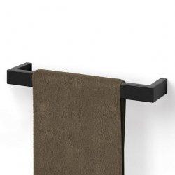 Zack LINEA BLACK Reling na Ręczniki 46,5 cm Czarny