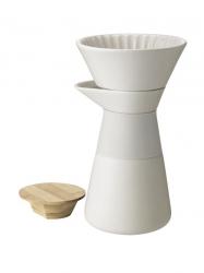 Stelton THEO Ekspres - Zaparzacz do Kawy Beżowy - Sand