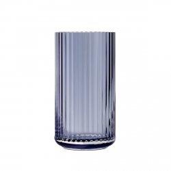Lyngby Porcelain LYNGBY Wazon Szklany 20 cm Granatowy Midnight Blue