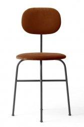 Menu AFTEROOM Krzesło Czarne Tapicerowane - Tkanina City Velvet CA 7832/062