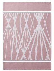 SÖDAHL - DIAMOND GRID Ręcznik Kuchenny 50x70 cm Różowy