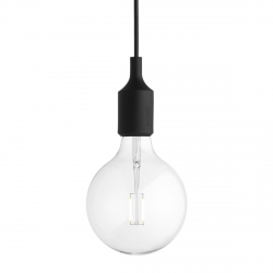 Muuto E27 Lampa Żarówka LED - Czarna