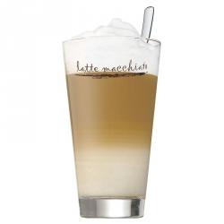Wmf CLEVER MORE Szklanka i Łyżeczka do Kawy Latte 2 El.