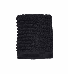 ZONE Denmark CLASSIC Ręcznik 30x30 cm Czarny