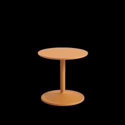 Muuto SOFT SIDE Stolik Okrągły 40 cm Pomarańczowy / Blat 41 cm Laminat