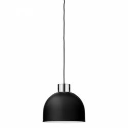 Aytm LUCEO Lampa Wisząca Okrągła 28 cm Czarna