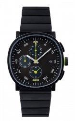 Alessi TIC15 Zegarek Męski - Chronograf, Stalowa Bransoleta Czarna