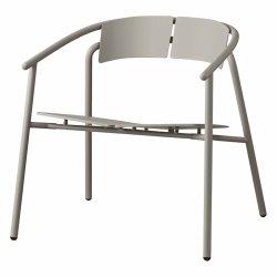 Aytm NOVO Krzesło Stalowe Lounge - Taupe