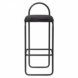 AYTM - ANGUI Hoker - Krzesło Barowe 92,5 cm Czarny