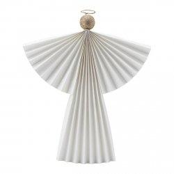 House Doctor ORNAMENT Dekoracja Świąteczna - Anioł 36 cm Biały