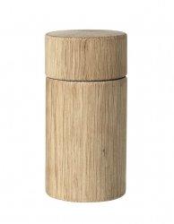Broste Copenhagen WOODEN Drewniany Młynek do Soli lub Pieprzu - Dębowy