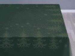 Sodahl CHRISTMAS WINTERLAND Obrus Świąteczny na Stół 150x370 cm Zielony