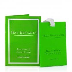 Max Benjamin CLASSIC Zawieszka - Karta Zapachowa - Bergamot & Ylang Ylang