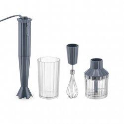 Alessi PLISSE Blender Ręczny + Akcesoria - Szary