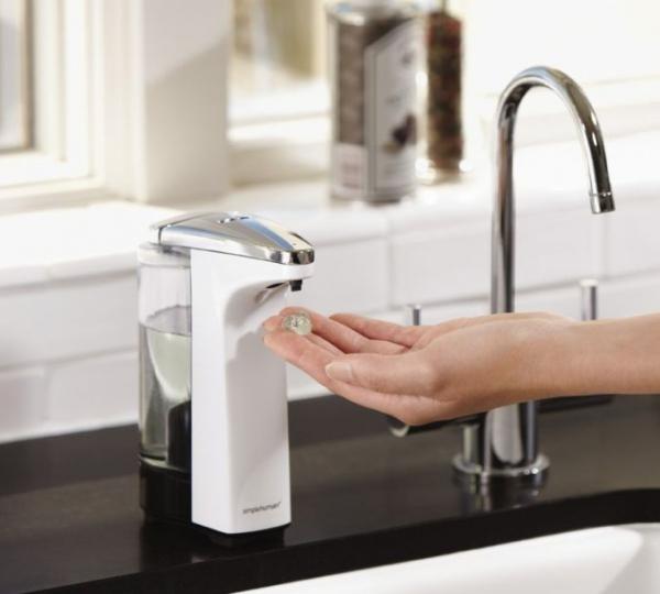 Simple Human - Bezdotykowy Automatyczny Dozownik do Mydła z Czujnikiem - Biały