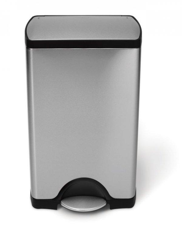 Simple Human - Kosz Pedałowy CLASSIC 50L Stal Matowa FPP