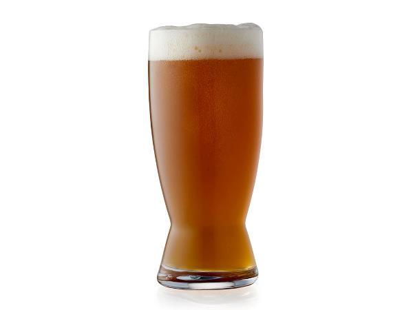 Lyngby Glass BEER Szklanki do Piwa - Zestaw 4 Szklanek do Różnych Gatunków Piw