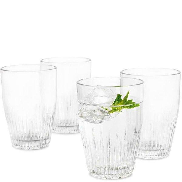 Rosendahl GLASS Karafka + 4 Szklanki do Wody 300 ml - Zestaw