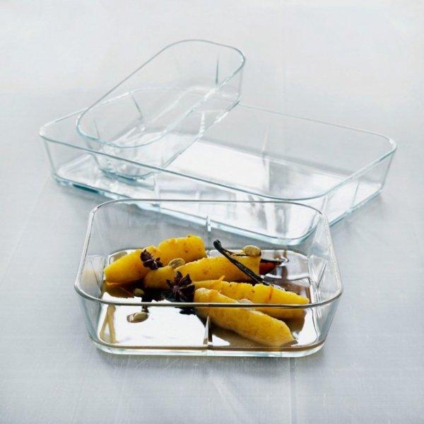 Rosendahl GRAND CRU Szklana Forma do Zapiekania - Naczynie Żaroodporne 24x24 cm