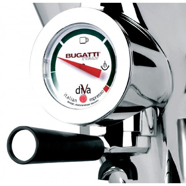 Casa Bugatti - Ciśnieniowy Ekspres do Kawy DIVA Chromowany