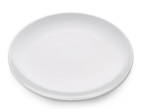 White Basics - Talerz Okrągły Płaski 30,5 cm