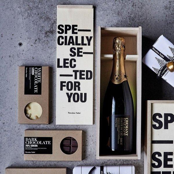 Nicolas Vahe WINE BOX Skrzyneczka Prezentowa do Butelki Wina